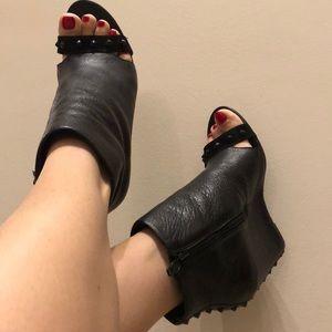 ASH booties open toe